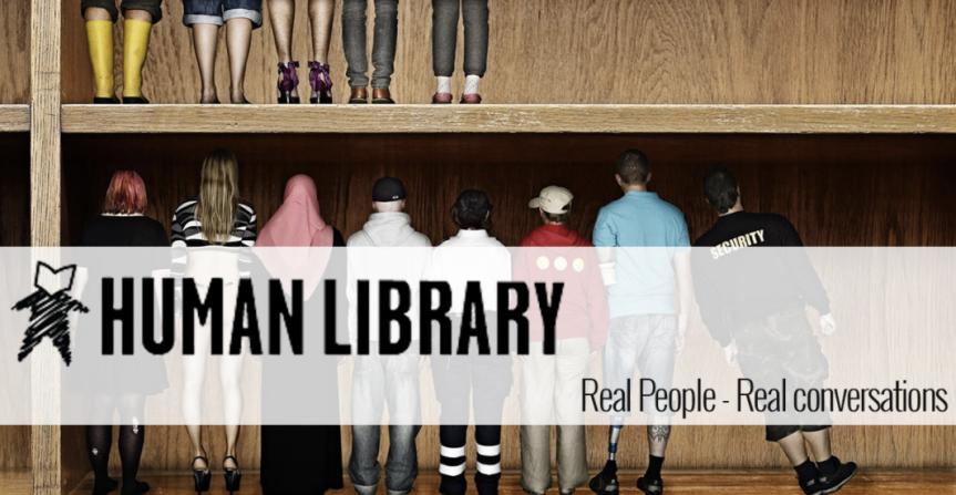 Las bibliotecas humanas, donde se consultan personas en lugar delibros