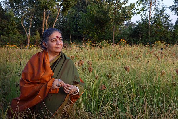 Vandana Shiva: «La revolución es inevitable y será ecológica; la gente quiere menos capital y másbienestar»