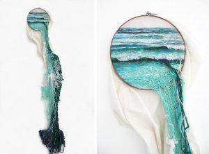 19 artistas que expanden los límites del bordado