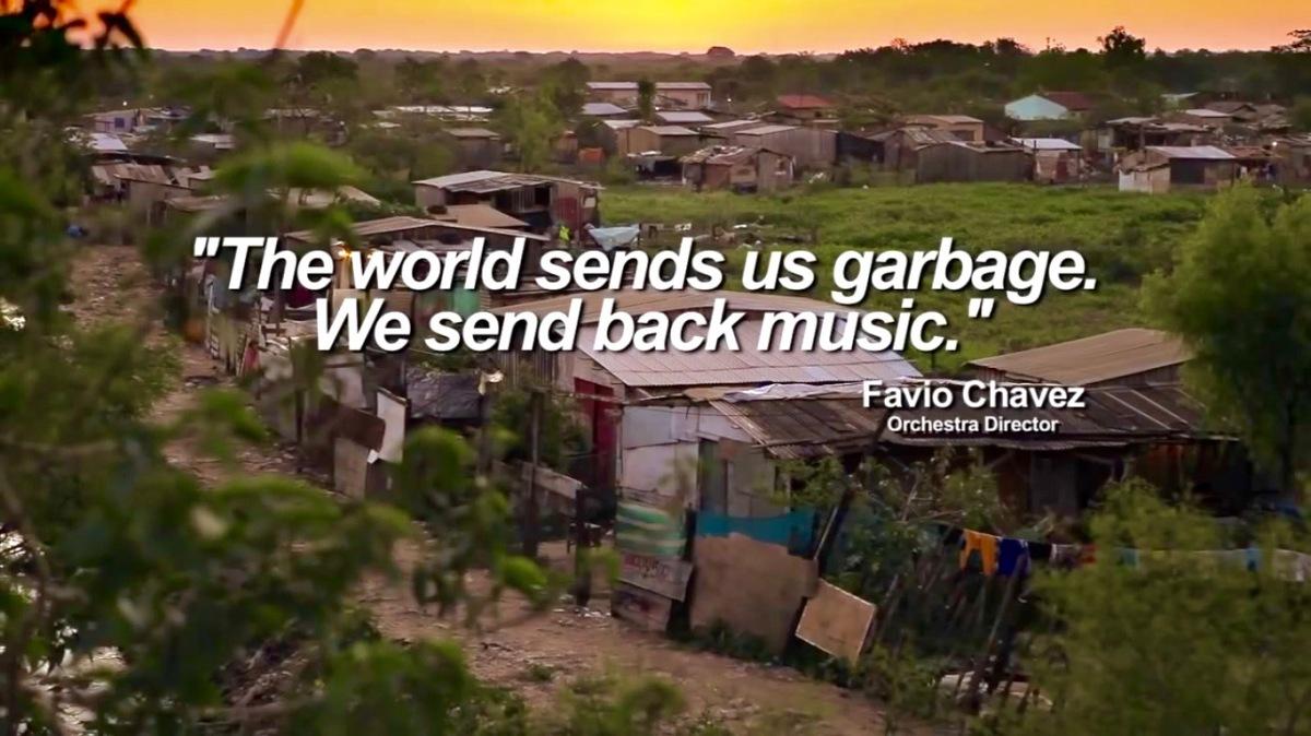 "Orquesta de Instrumentos Reciclados de Cateura - Paraguay - ""Landfill Harmonic"""