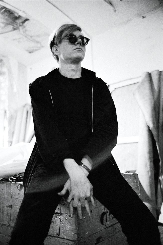 Stephen ShoreAndy Warhol, 1965-1967Fotografía blanco y negro32.4 x 48.3 cm© Stephen Shore, cortesía 303 Gallery, Nueva York