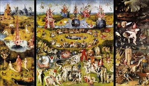 """The Garden of Earthly Delights"", Website interactivo"